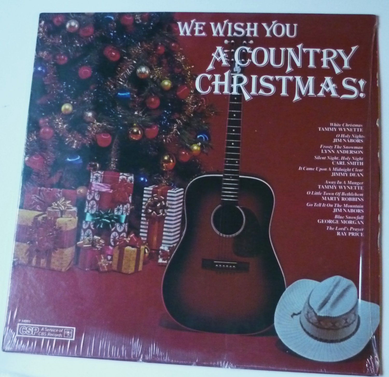 We Wish You a Country Christmas lp - Various Artists p14991