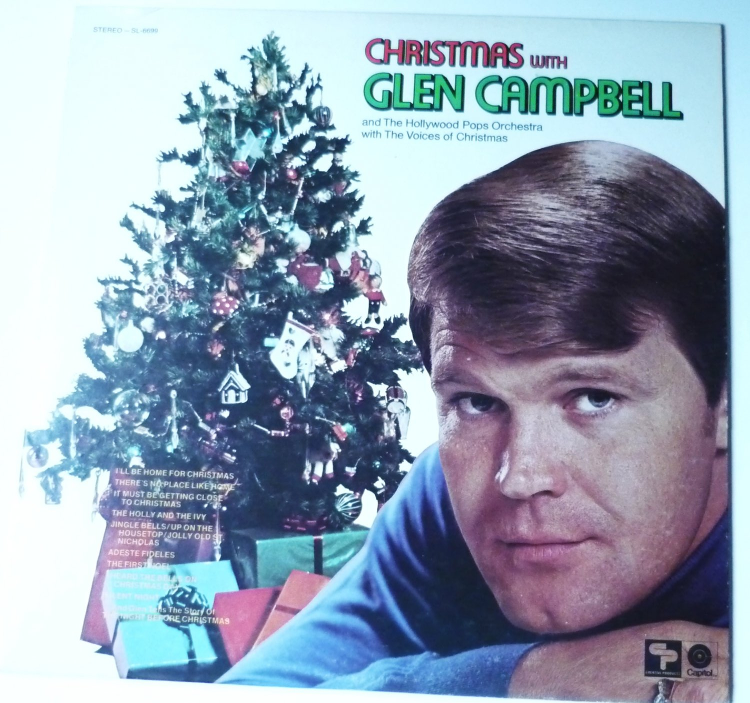 Christmas with Glen Campbell lp SL6699