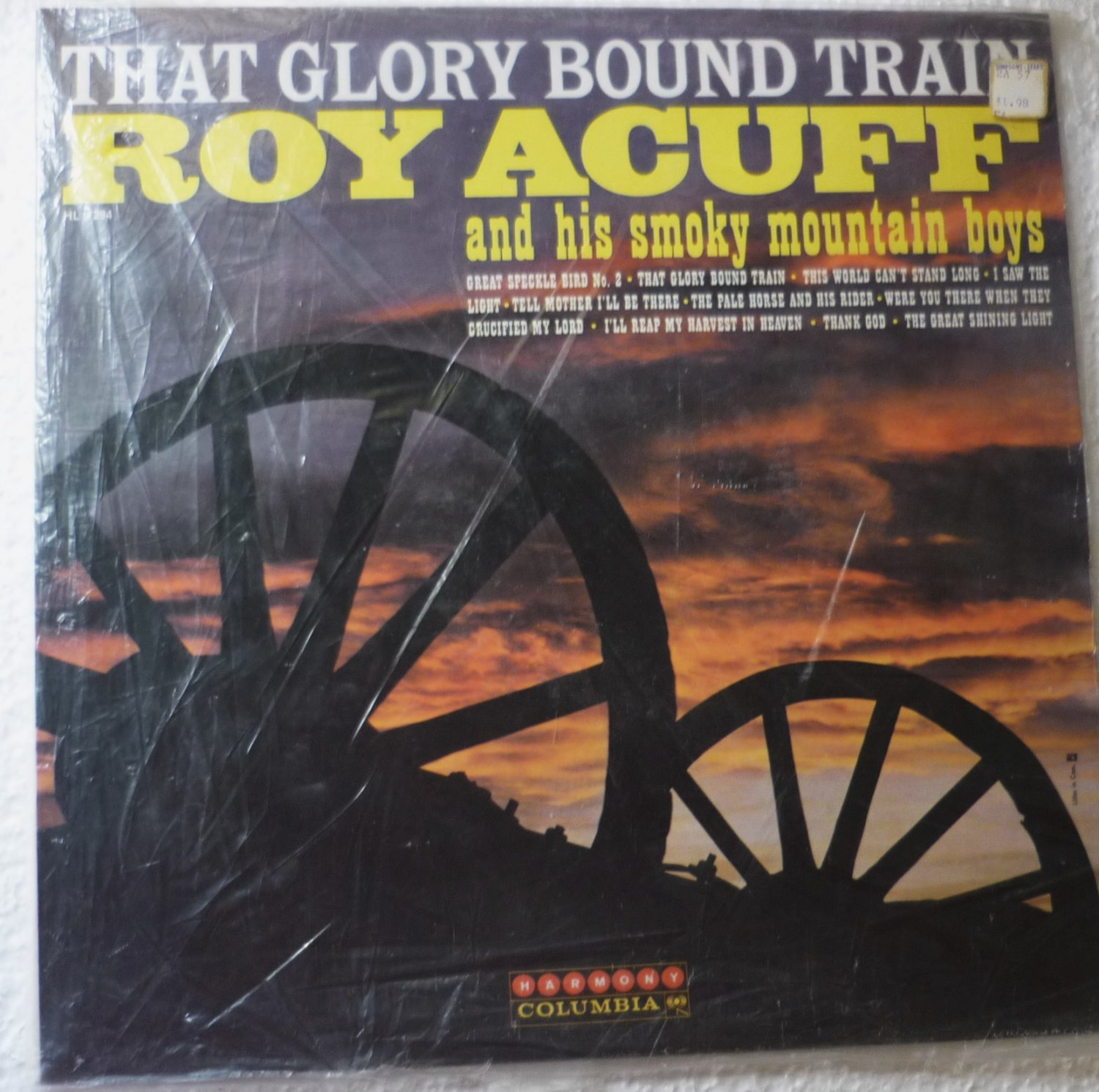 That Glory Bound Train by Roy Acuff 1961 lp hl 7294 One Owner