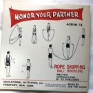 Honor Your Partner Album 12 by Ed Durlacher Four 78 Record Albums Rope Skipping