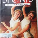 Sports Illustrated Mag January 24 1955 D Hedberg and M Karlen on Cover