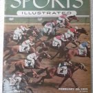 Sports Illustrated February 28, 1955 Hialeah Racetrack on Cover