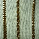 New: Set of Three Gold Tone Bracelets Different Links Sizes 7.5 and 8