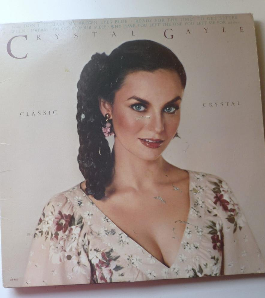 Crystal Gayle lp Classic Crystal L00-982