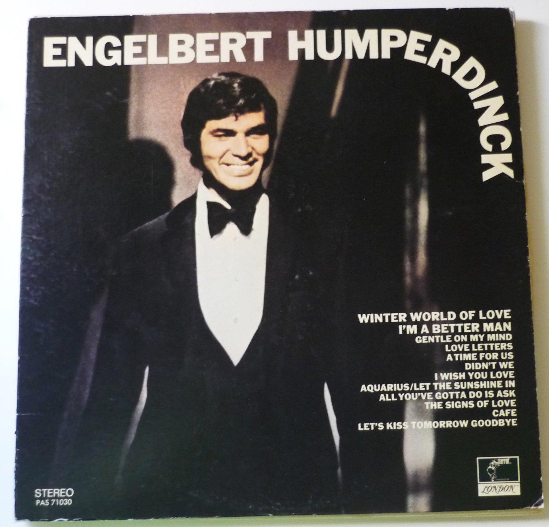 Engelbert Humperdinck lp Self Titled PAS 71030