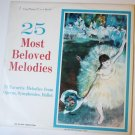 25 Most Beloved Melodies lp Various Original Artists