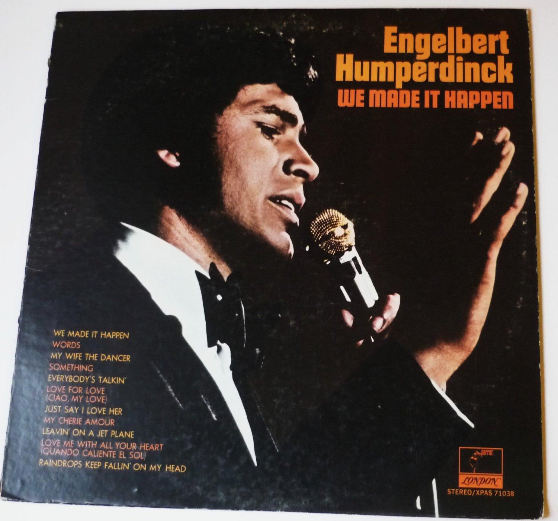 Engelbert Humperdinck lp We Made It Happen xpas71038