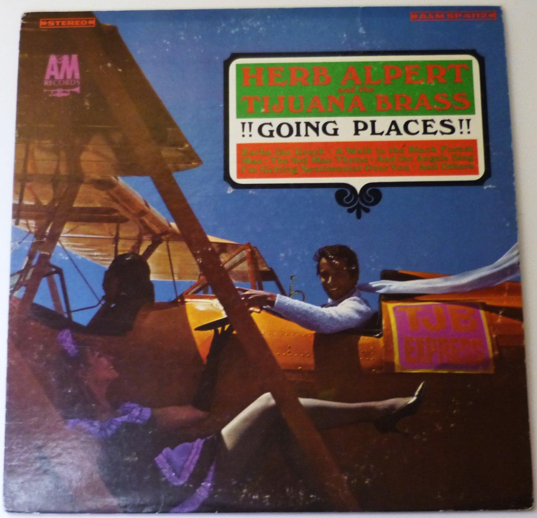 Herb Alpert and the Tijuana Brass: Going Places lp sp4112
