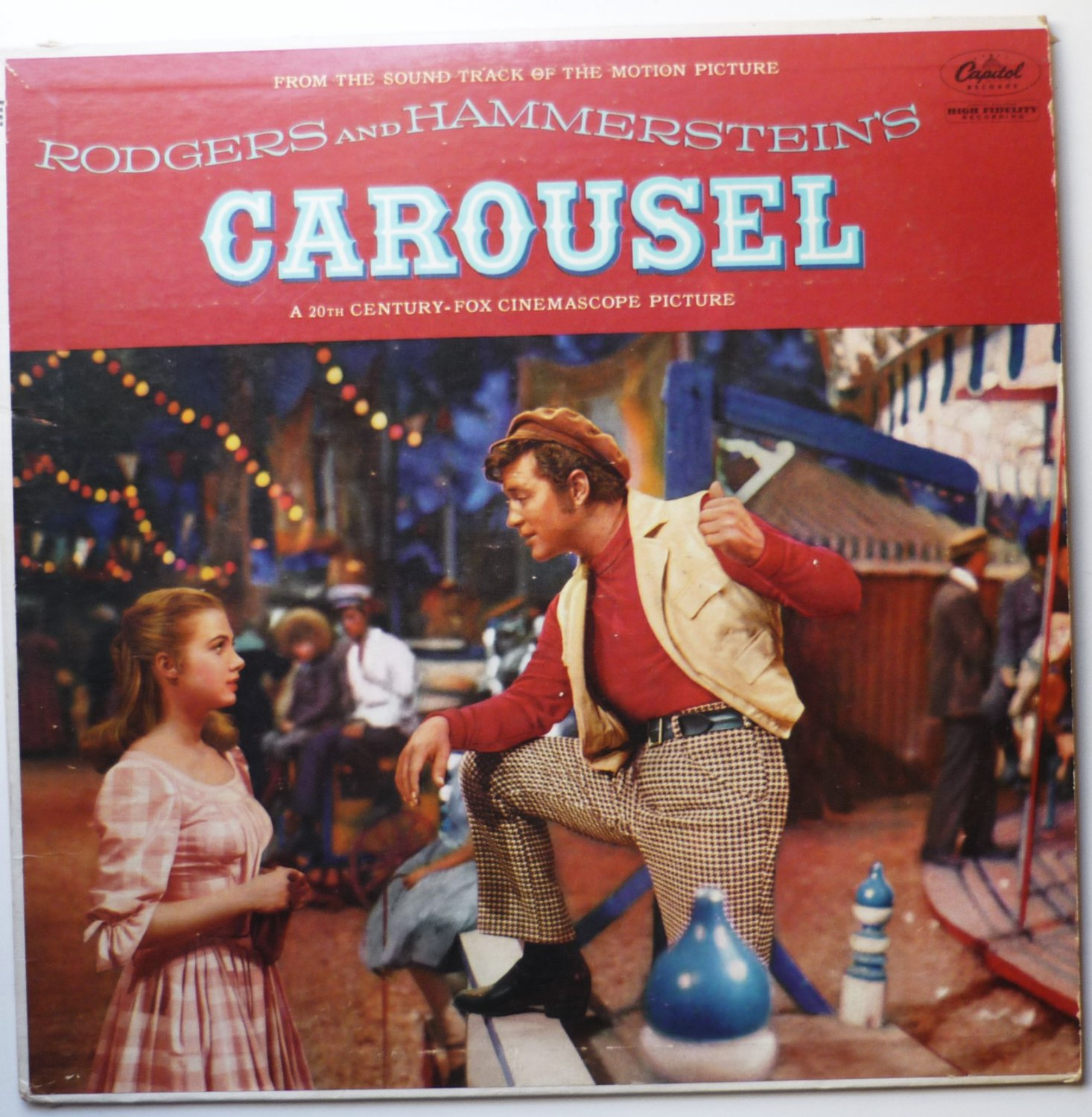 Carousel - Soundtrack lp Rodgers and Hammerstein