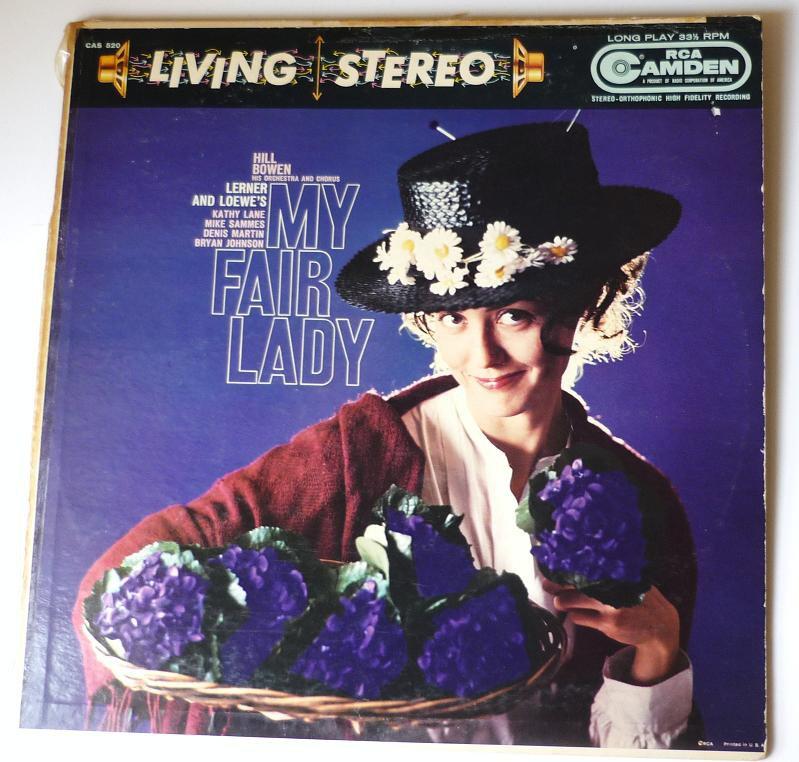 My Fair Lady Lerner and Loewes lp CAS 520