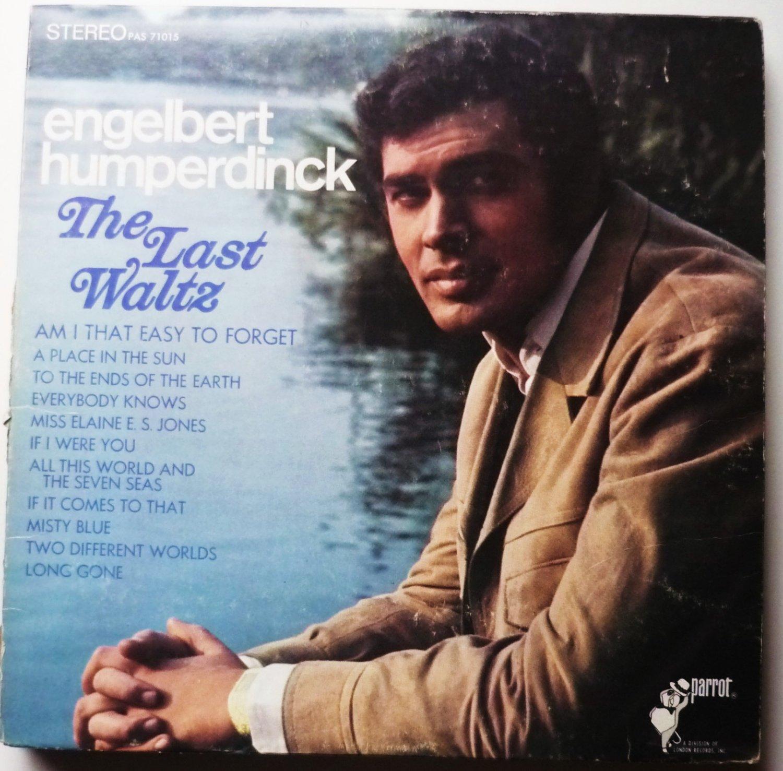 Engelbert Humperdinck lp The Last Waltz - pas7105
