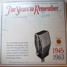 The Years To Remember 1945-1963 Double lp