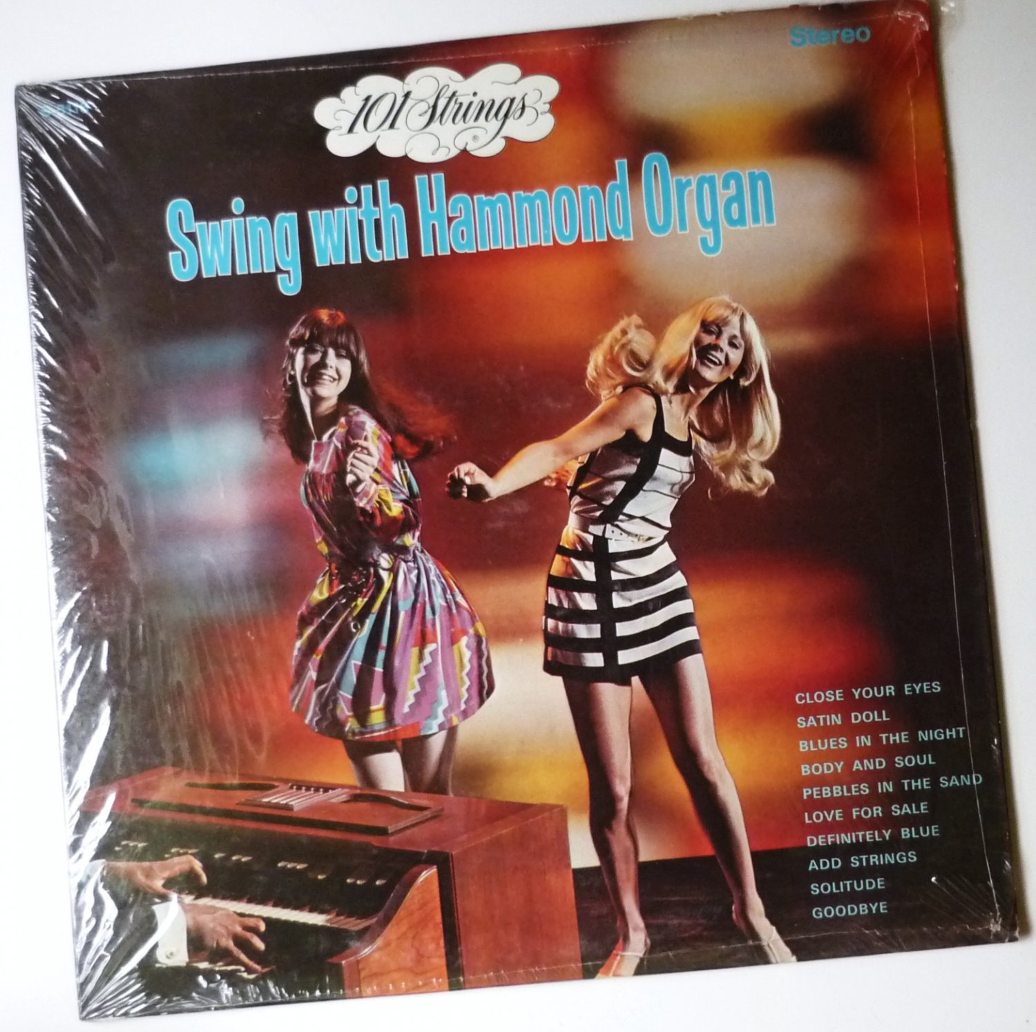 Swing With Hammond Organ lp - 101 Strings - Rare