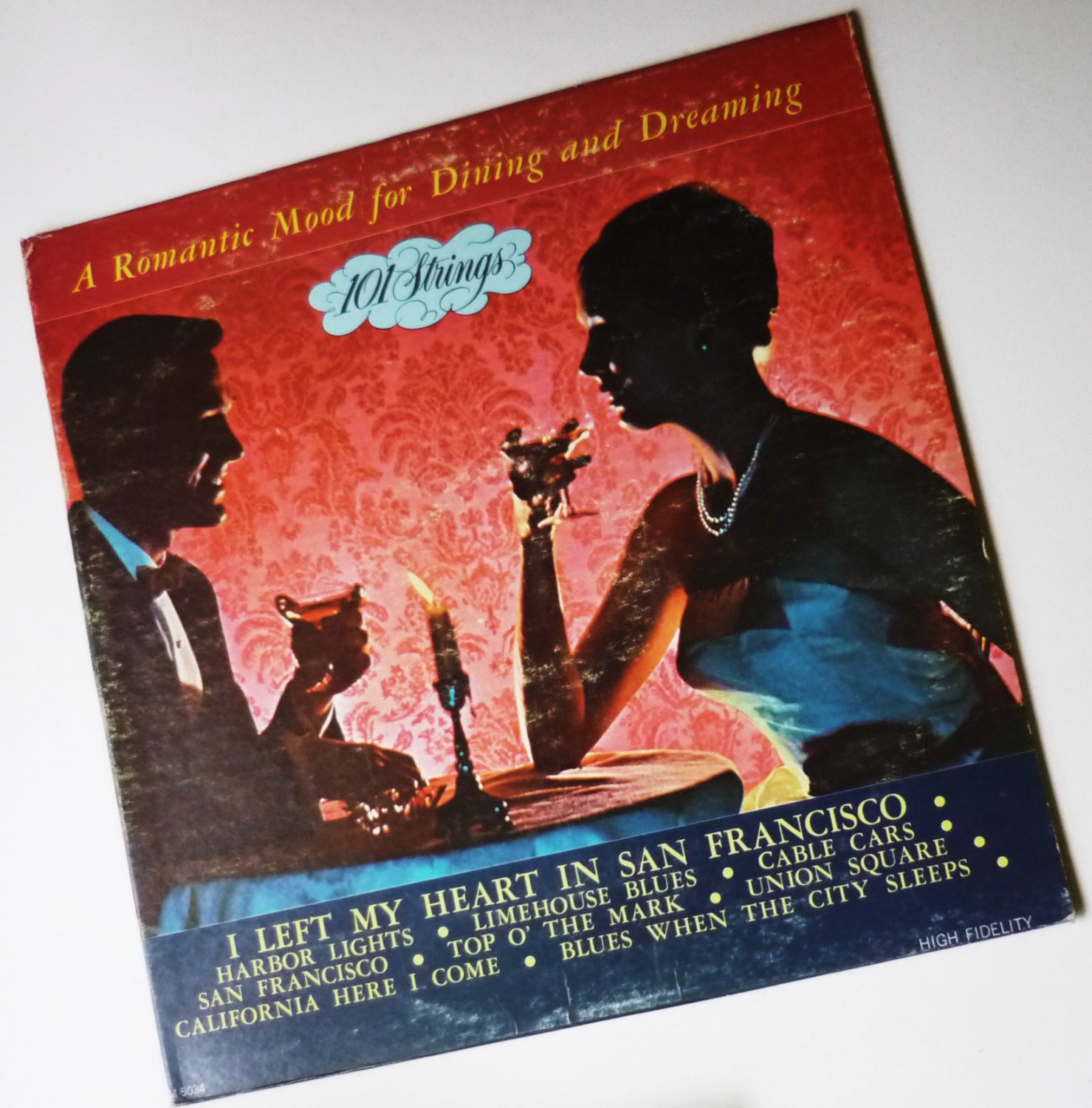 Romantic Mood For Dining And Dreaming - 101 Strings lp m5034
