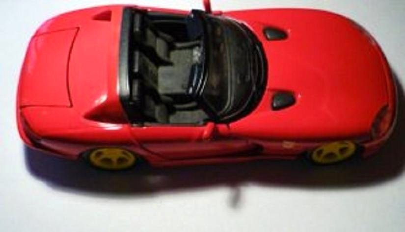Red Dodge Viper Die Cast rt/10 by Maisto Scale 1 : 24