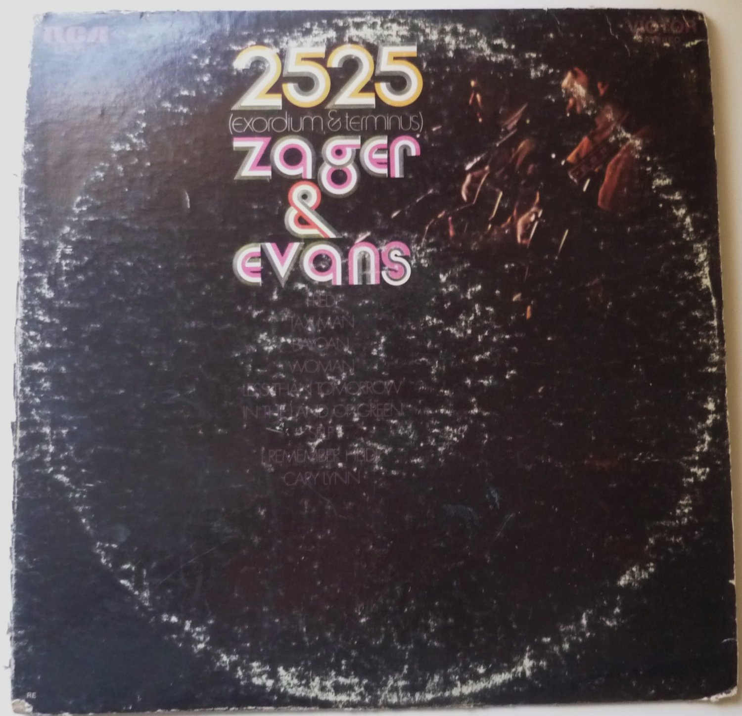 Zager and Evans lp 2525 LSP-4214