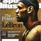 Sports Illustrated Feb 2 2009 Joe Torre Yankee Steeler and LeBron Fans