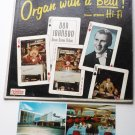 Don Johnson lp: King of Organ with a Beat slk115 Postcard Autograph