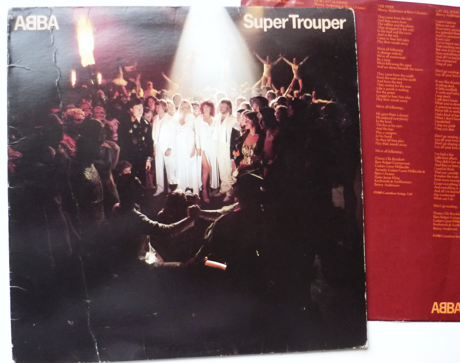 ABBA Super Trouper lp sd16023