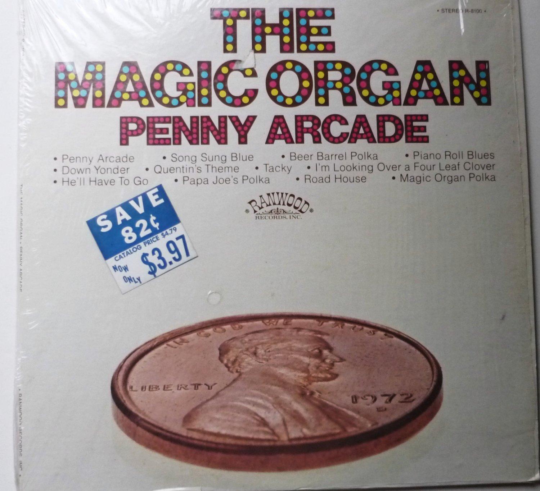 Penny Arcade lp by the Magic Organ