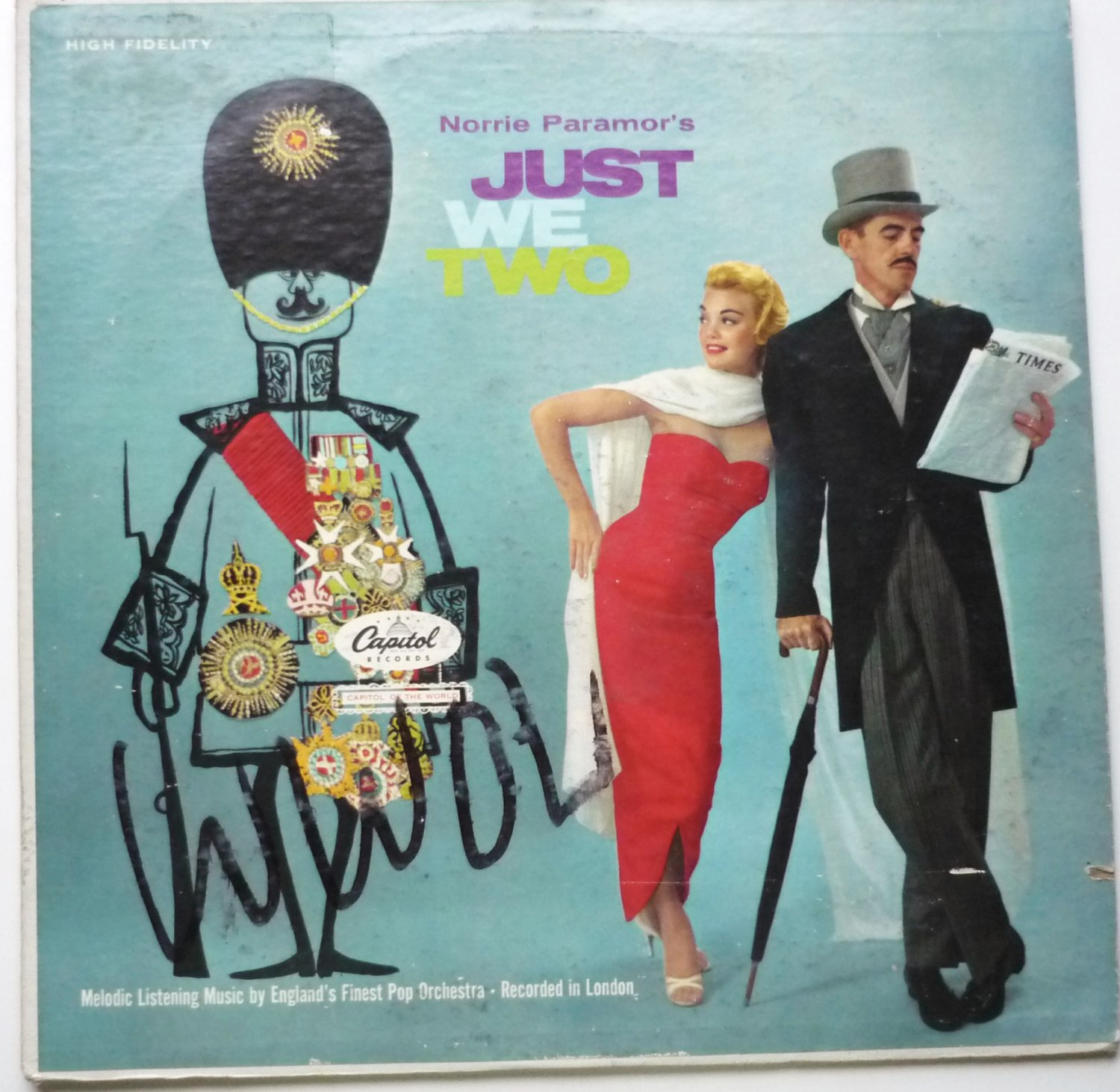 Just We Two lp by Norrie Paramor - Paramors