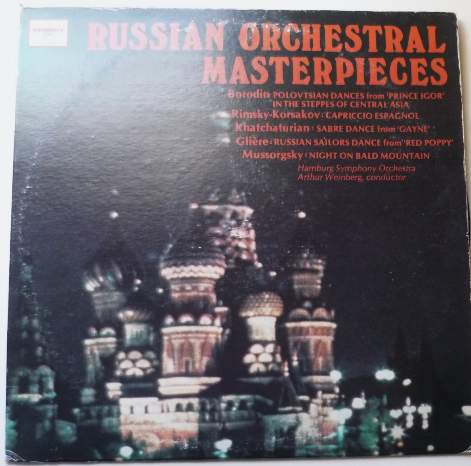 Russian Orchestral Masterpieces lp SUM 1029 by Various Artists