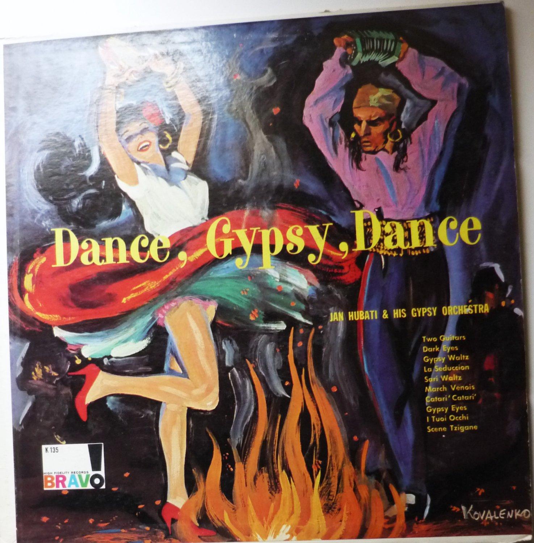 Dance Gypsy Dance lp by Jan Hubati