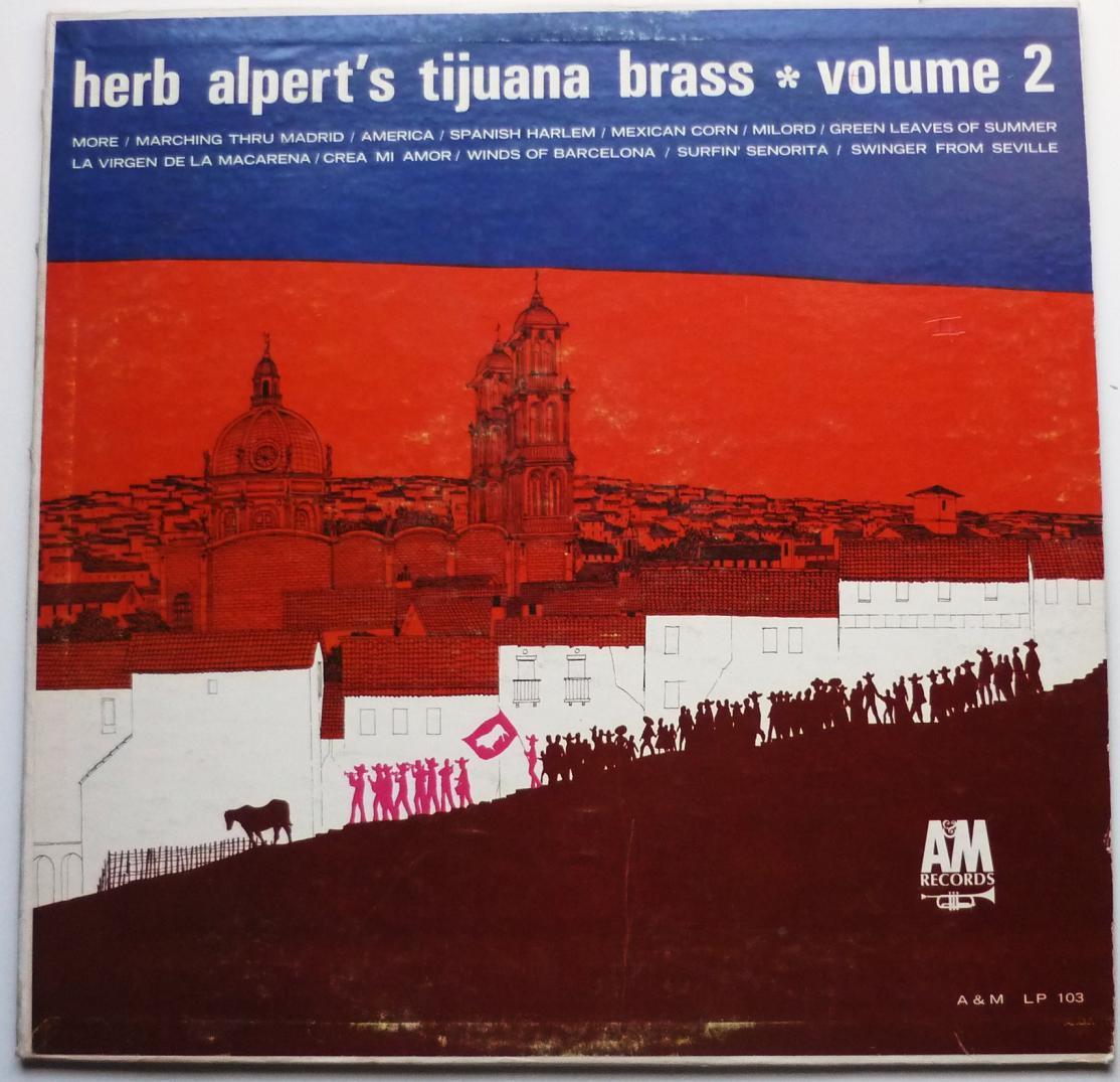 Herb Alperts Tijuana Brass lp Volume 2 lp103