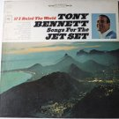 Songs For The Jet Set lp by Tony Bennett