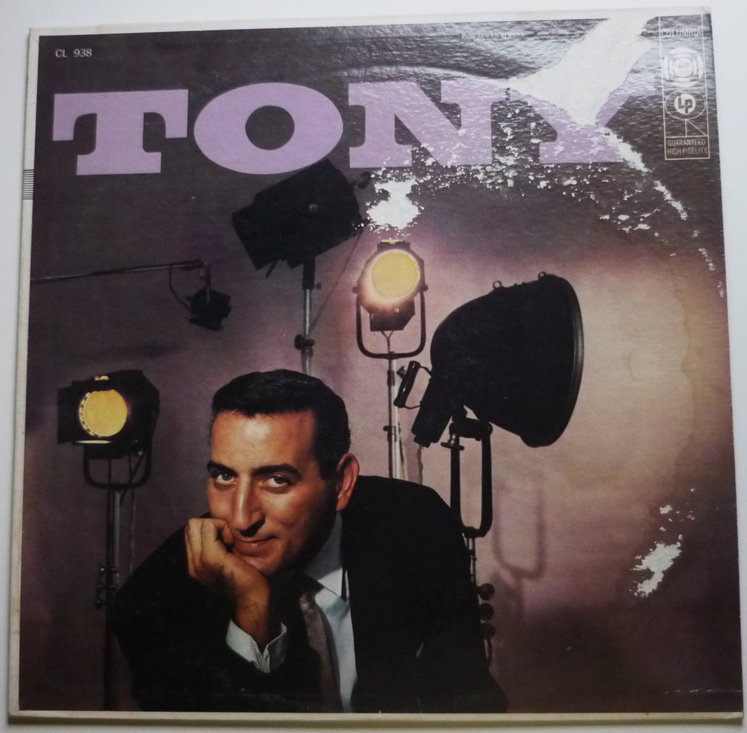 Tony lp by Tony Bennett cl938
