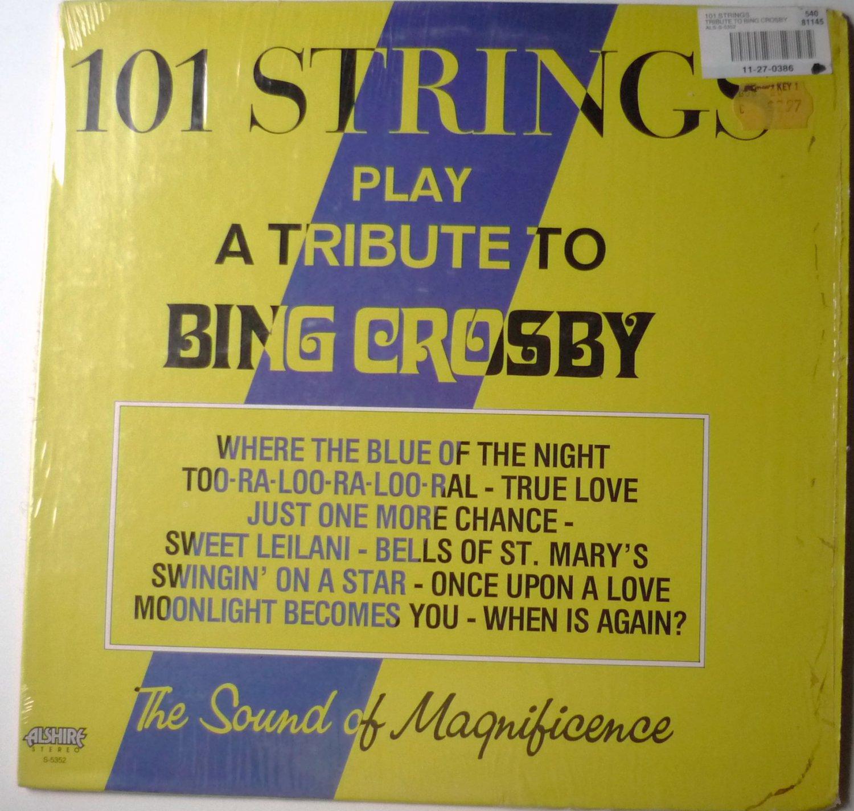 101 Strings Play a Tribute to Bing Crosby lp