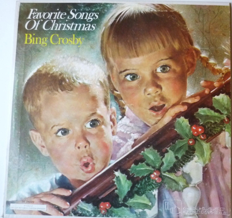 Bing Crosby - Favorite Songs of Christmas lp