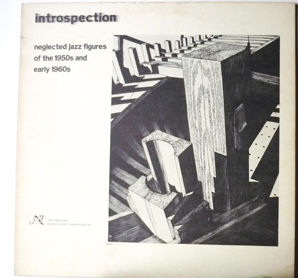 Introspection Neglected Jazz Figures of the 1950s and Early 1960s lp