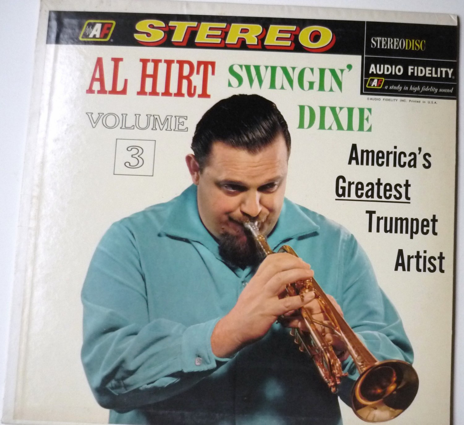 Swingin Dixie Volume 3 lp by Al Hirt