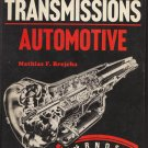 Automatic Transmissions Automotive by Mathias Brejcha 0826901905