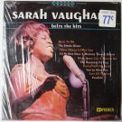 Sarah Vaughan Belts the Hits lp