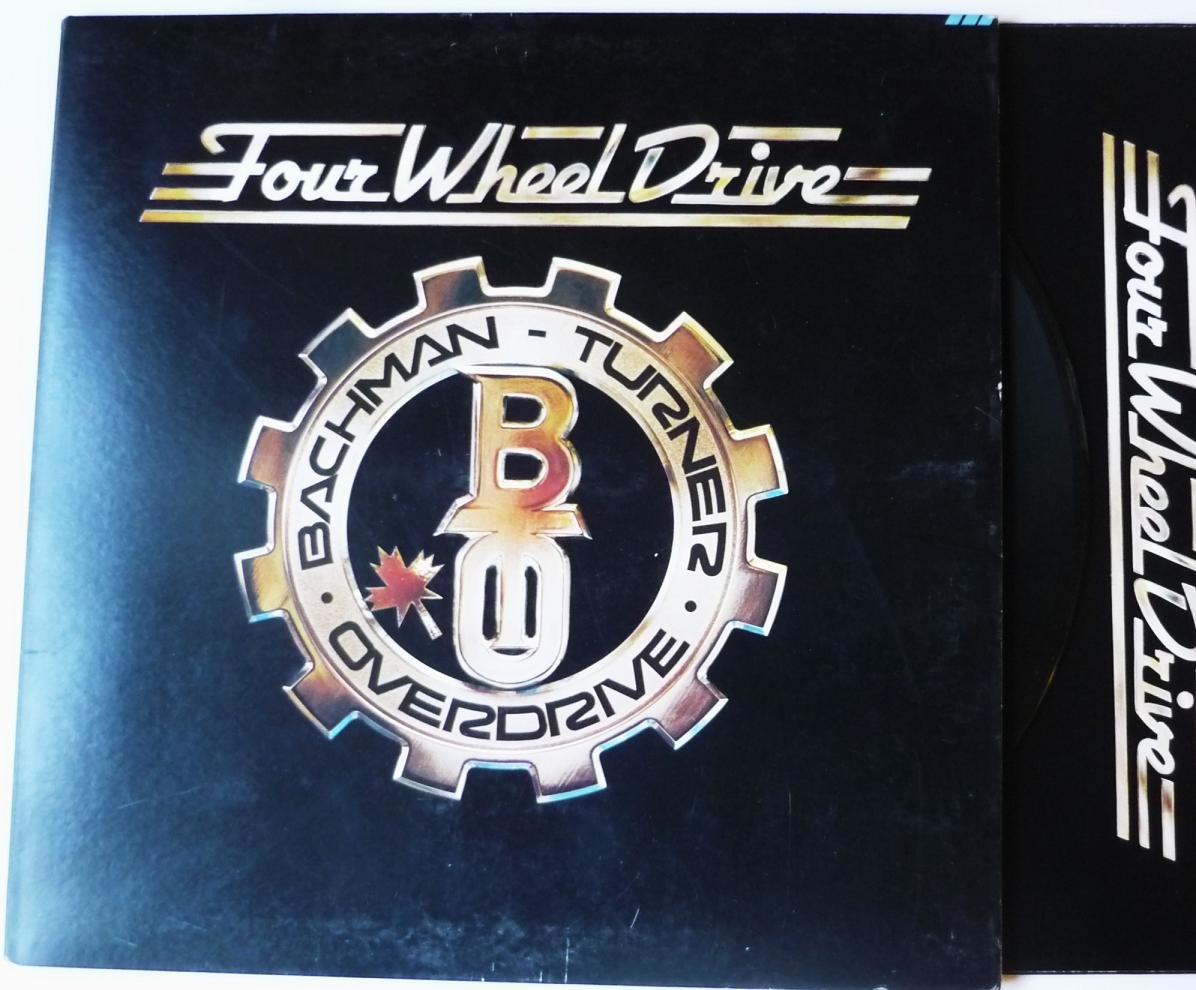 Four Wheel Drive lp by Bachman Turner Overdrive