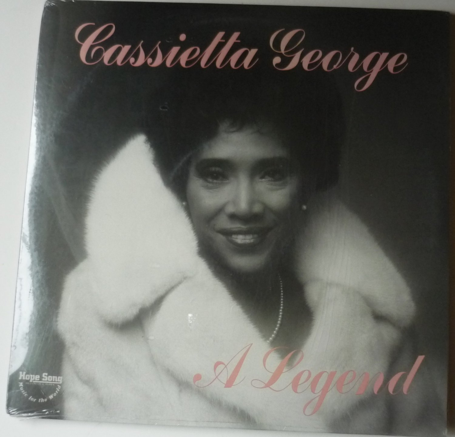 A Legend lp by Cassietta George - New Sealed