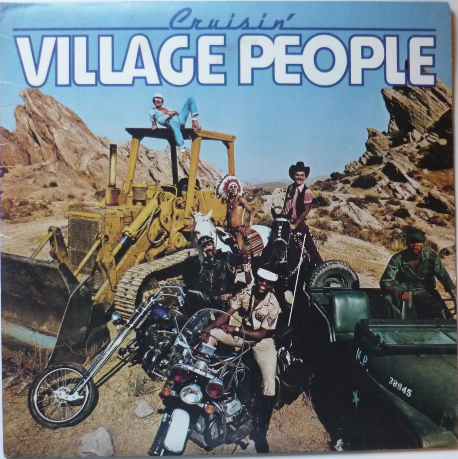 Cruisin lp by The Village People