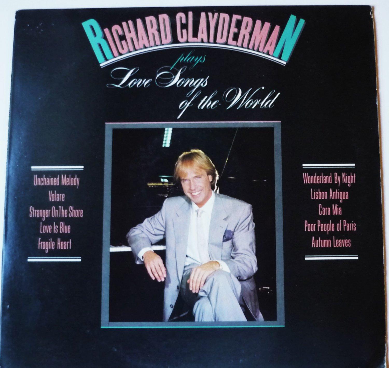 Richard Clayderman Plays Love Songs Of The World lp