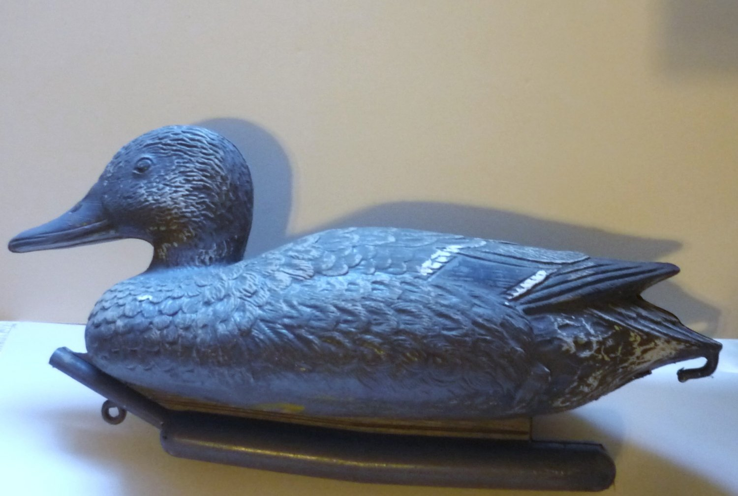 Carry-Lite Hunting Duck Decoy Plastic w Rutter - Milwaukee WI