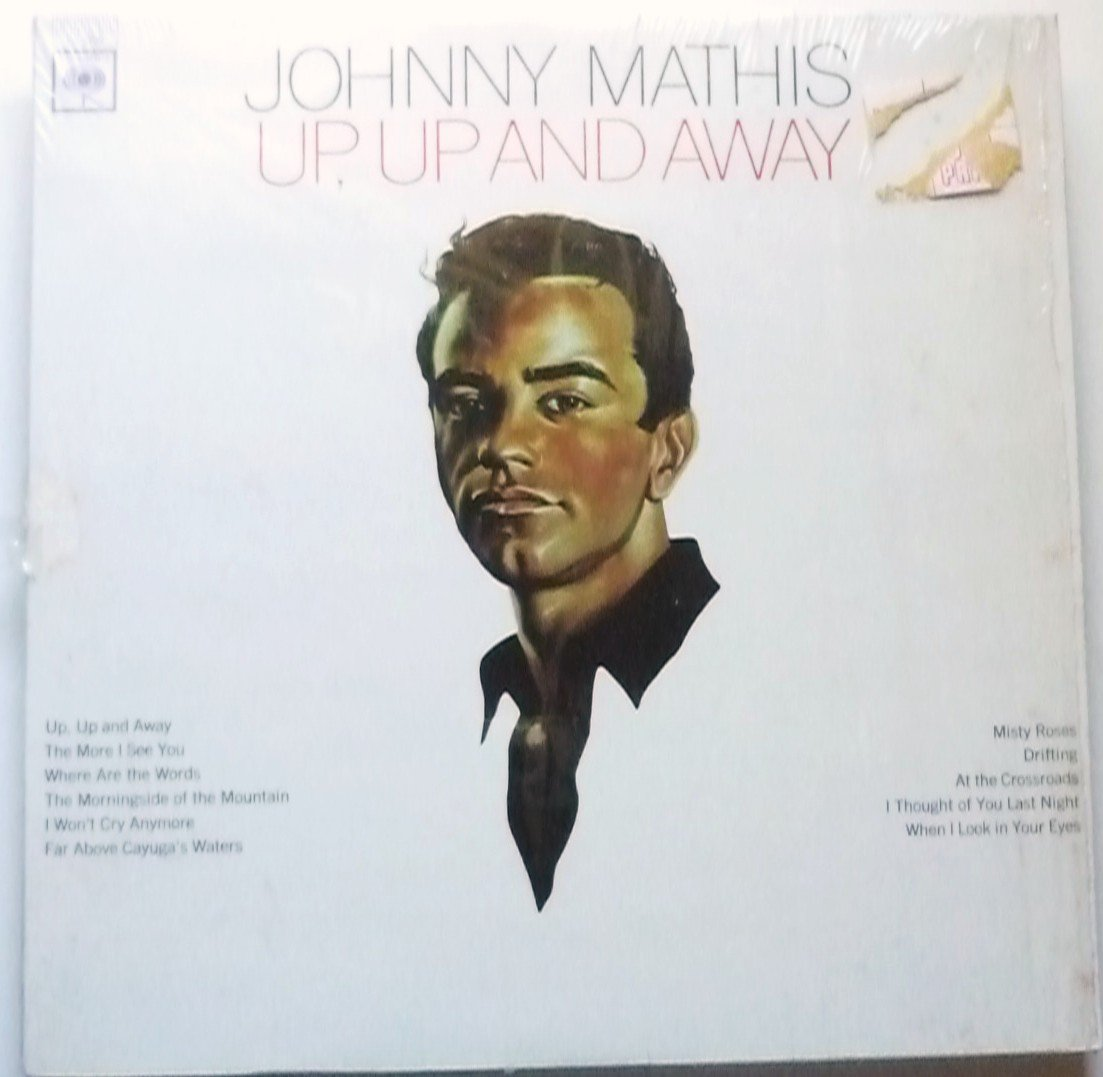 Up Up and Away lp by Johnny Mathis