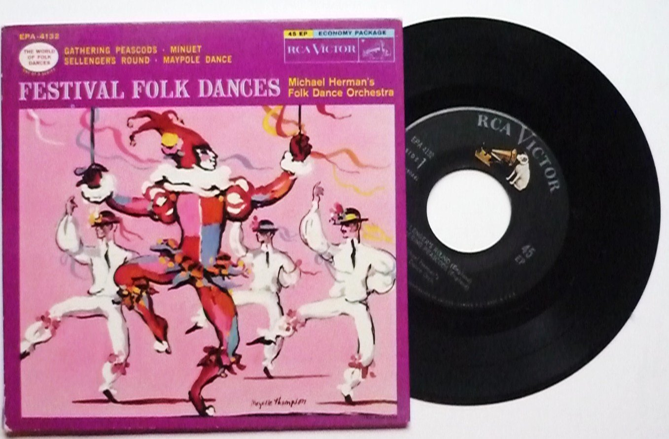 Festival Folk Dances by Michael Herman Vinyl 45 EP - epa4132