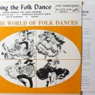 Doing the Folk Dance 45 EP Record by Michael Herman