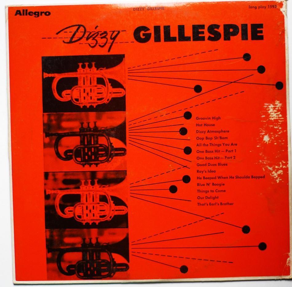 Dizzy Gillespie lp - Self Titled - 1593 - Rare