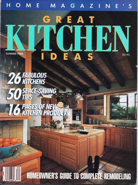Home Magazines Great Kitchen Ideas Summer 1988