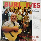 Songs I Sang in Sunday School by Burl Ives lp