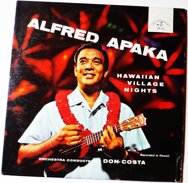 Alfred Apaka Hawaiian Village Nights lp