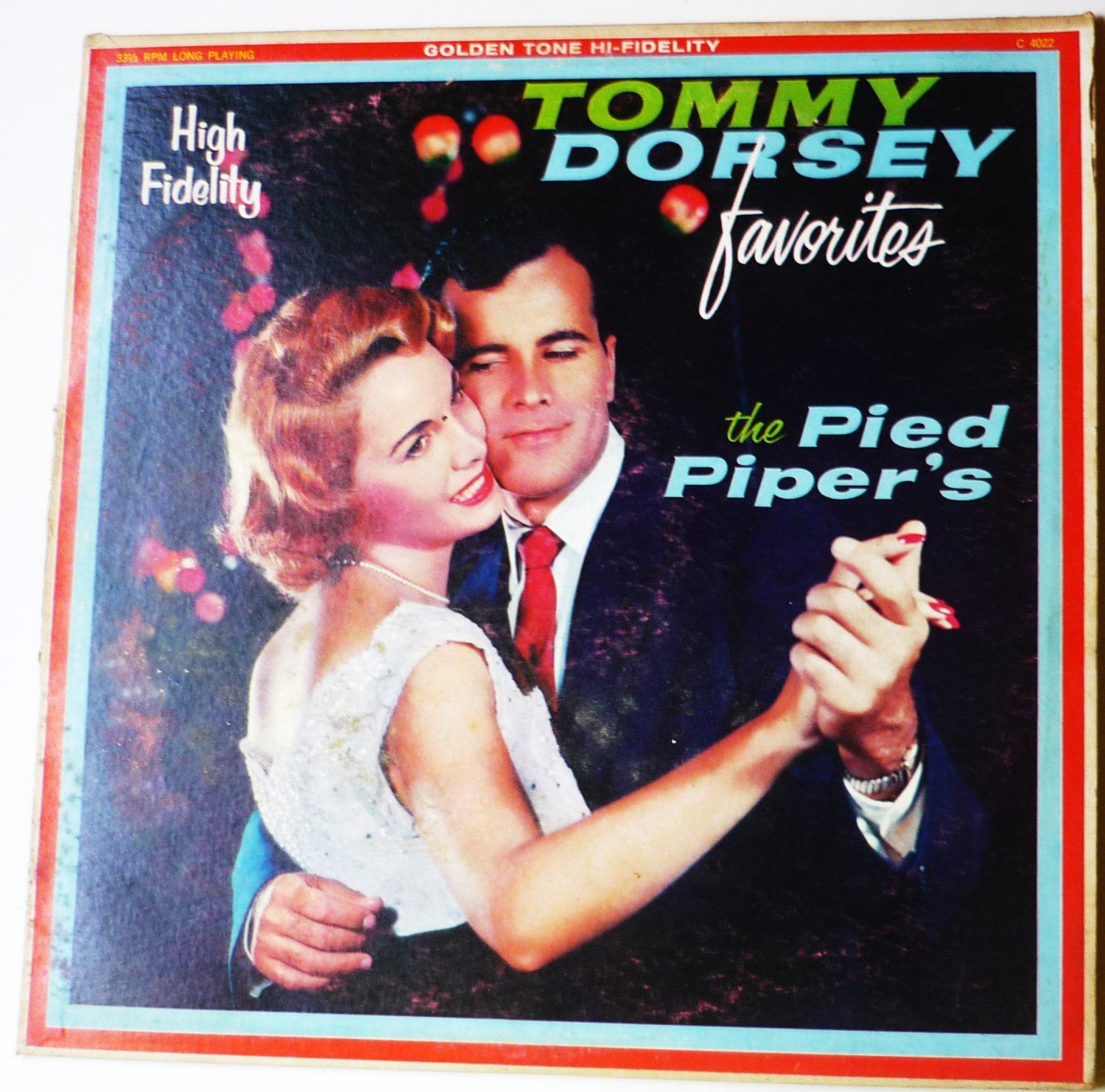Tommy Dorsey Favorites lp by The Pied Pipers