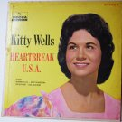 Heartbreak USA lp by Kitty Wells